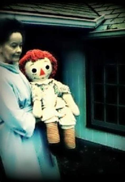 the annabelle doll story the true story of quot annabelle quot the creepy doll from the