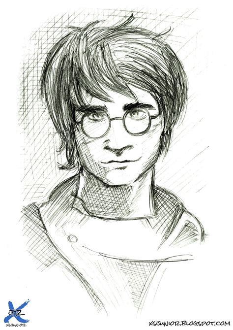 desenho harry potter xsjunior desenho harry potter