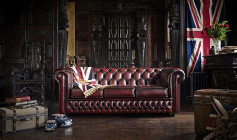 sof 225 chesterfield rinconera original en piel de lujo en