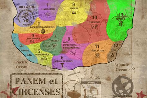 us map of hunger districts panem petros