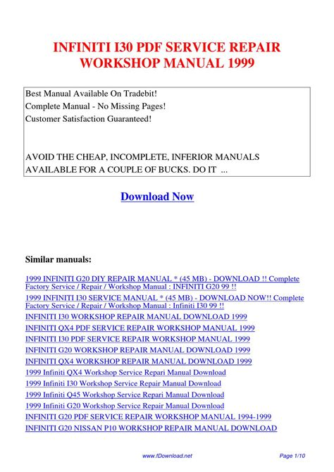 service manual 1998 infiniti i repair manual download service manual work repair manual 1999 infiniti i service manual 1999 infiniti i owners