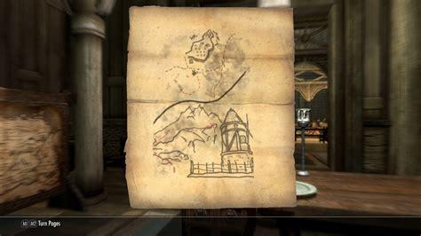the elder scrolls 5 skyrim do the treasure maps serve
