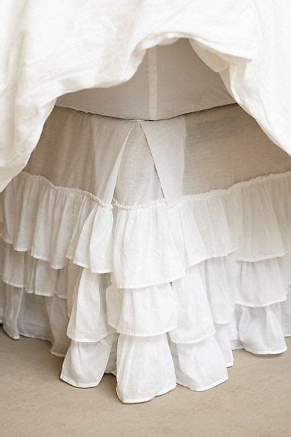 anthropologie bed skirt pleated ruffles bedskirt anthrofave your anthropologie