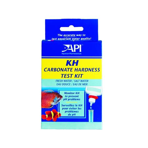 test api api kh water test kit for freshwater marine aquariums