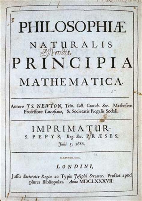 isaac newton biography and works sir isaac newton and his mathematical principles of