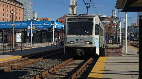 Mta Maryland Light Rail by Mta Maryland Light Rail Terminates At Camden Yards