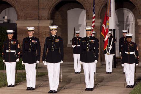 female regulations marine corps presentation the barracks continues uniform evaluation for female