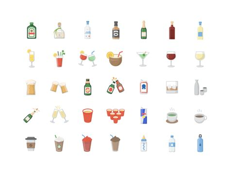 drink emoji iphone moji on quot drink emojis are complete emoji app