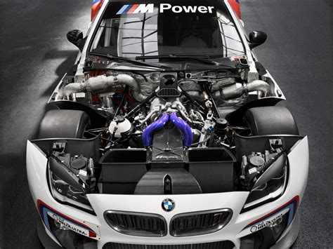 Car Engine Wallpaper by 2016 Bmw M6 Gt3 Race Car Engine Photos Hd Car Wallpapers