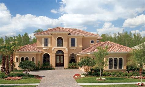 Florida Custom Home Plans | luxury custom home photo 456 landscape pinterest