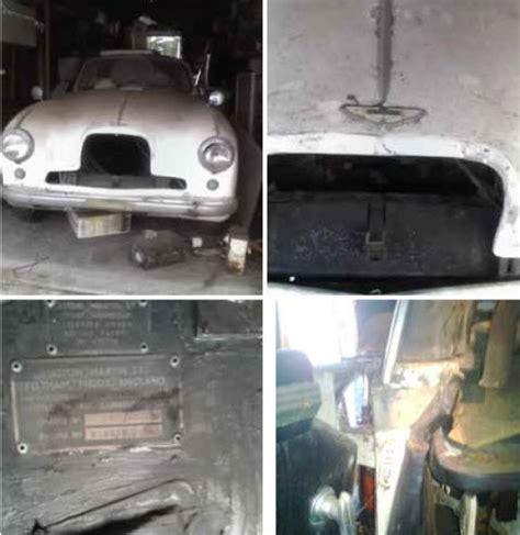 Craigslist Santa Barbara Garage Sales by Santa Barbara Garage Find 1953 Aston Martin Db2 4 Bring