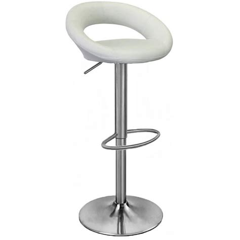 White Steel Bar Stools by Brushed Steel Bar Stools Stainless Steel Bar Stools