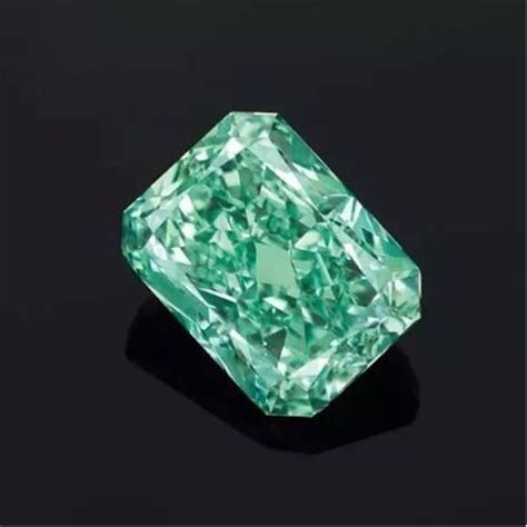 Diamon Green green the largest green naturally colored