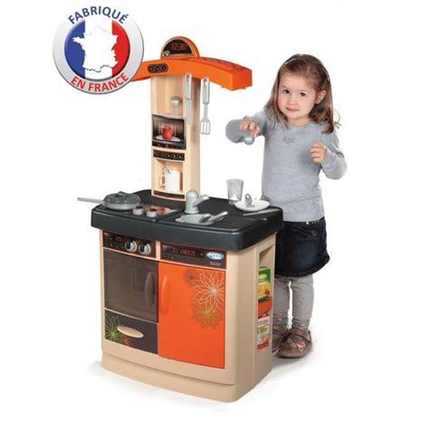 cuisine bon app騁it smoby smoby cuisine enfant bon app 233 orange achat vente