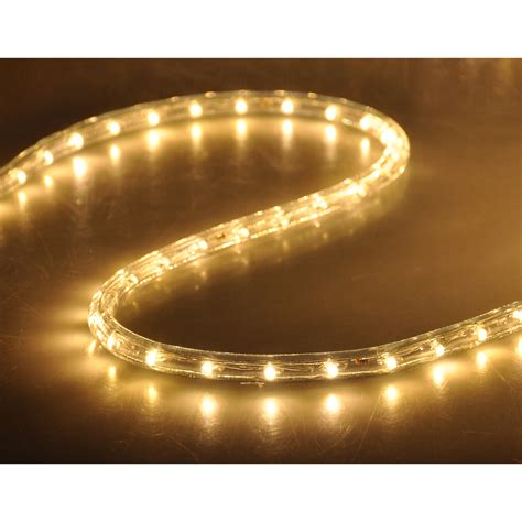 50 Led Rope Light Flex 2 Wire Outdoor Holiday D 233 Cor Rope Lights