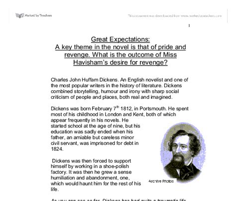 theme of education in great expectations great expectations a key theme in the novel is that of