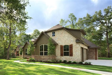 meritage homes houston for a traditional exterior with a