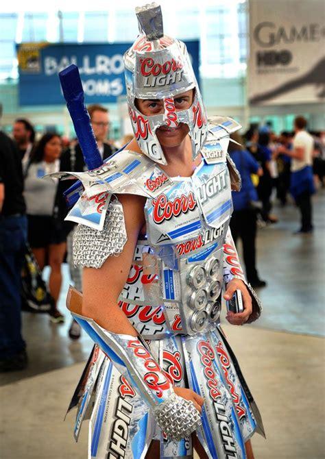 what makes light beer light halloween gladiator beer costume cool craft ideas