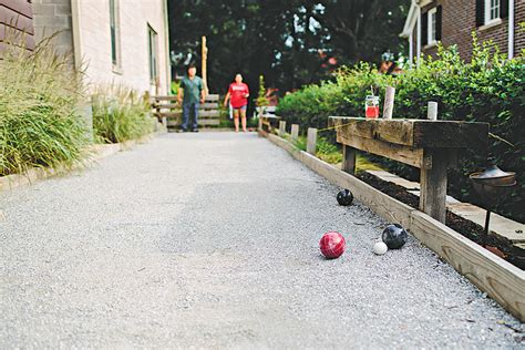 backyard bocce ball court have a ball this summer with a backyard bocce court the