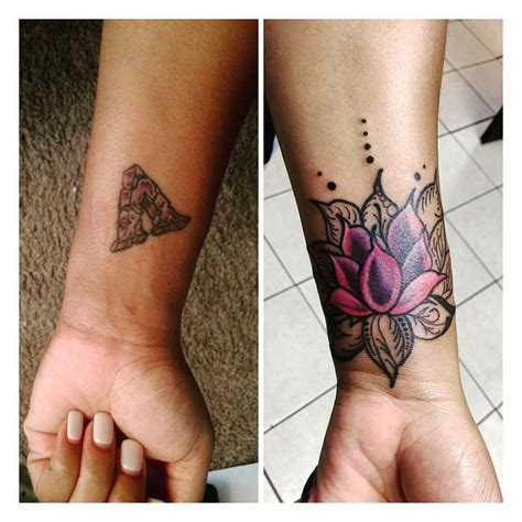 small cover up tattoos image result for mandala cover up wrist hamsa