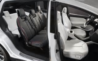 Tesla Model X Inside Tesla Model X Delayed Until Quot Late 2014 Quot