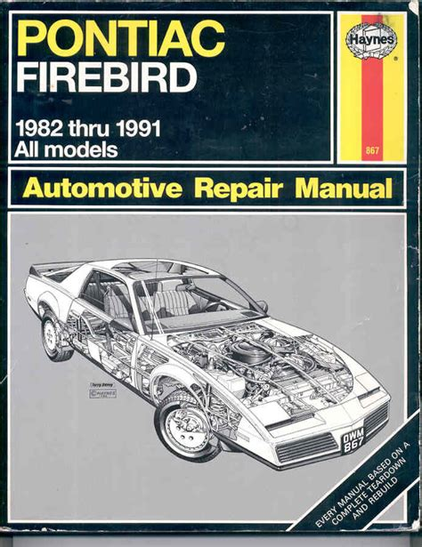 car repair manuals download 1991 pontiac lemans navigation system pontiac firebird automotive repair manual by john harold john b haynes paperback 1991