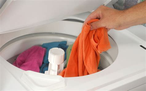 washing machine inside out clothes