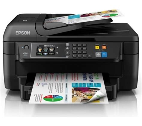 Printer Epson Bisa Fax buy epson workforce wf 2660 dwf all in one wireless inkjet printer with fax free delivery currys