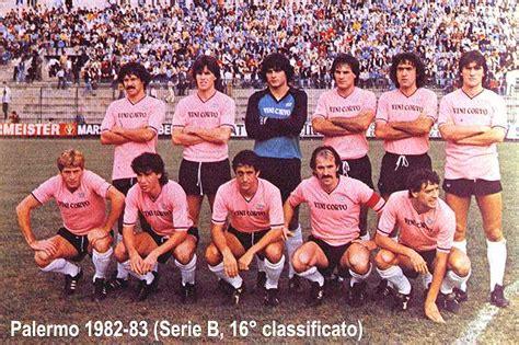 rosa pavia calcio societ 224 sportiva calcio palermo 1982 1983