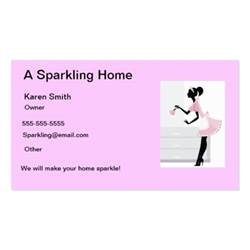 house cleaning business card house cleaning business card pink zazzle