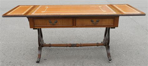 antique leather top coffee table pictures to pin on