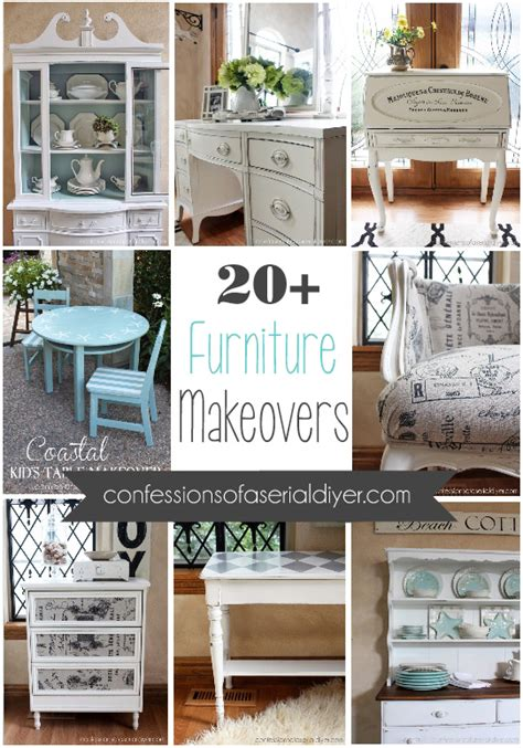 furniture makeovers 20 confessions of a serial do it yourselfer furniture