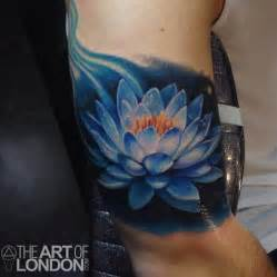 Blue Lotus Tatoo Blue Lotus Flower By Reese Tattoonow
