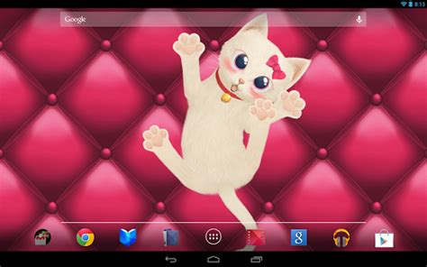 android wallpaper of the day προσφορά της ημέρας για android cat livepet wallpaper 3d