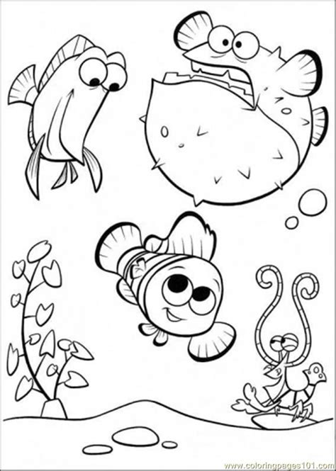disney nemo coloring pages free nemo coloring book pages coloring home