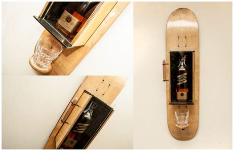 Repurposed Furniture Ideas by 360 Upcycling Wood Amp Skateboards Recyclart