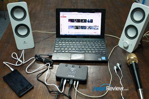 Mic Plus Audio Output Untuk Karaokean Di Smartphone review xox es102 singing device jagat review
