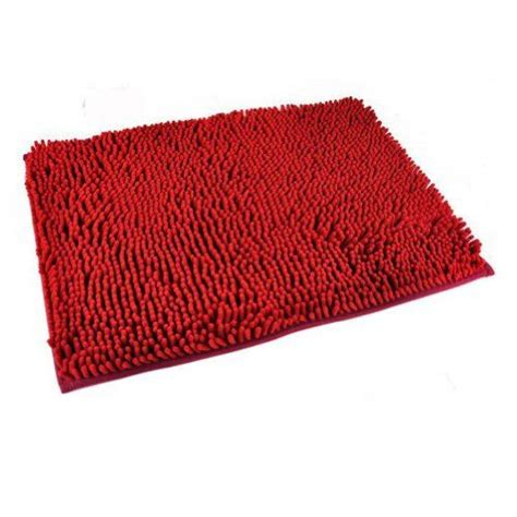 Thick Bathroom Rugs Generic Washable Bathroom New Shaggy Rugs Non Slip Bath Mat Thick Shag Pile 6 Colours