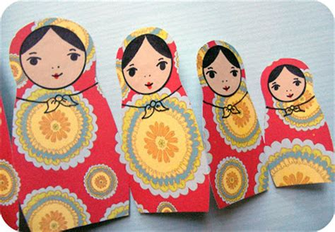 russian craft projects craft project russian nesting doll card make handmade
