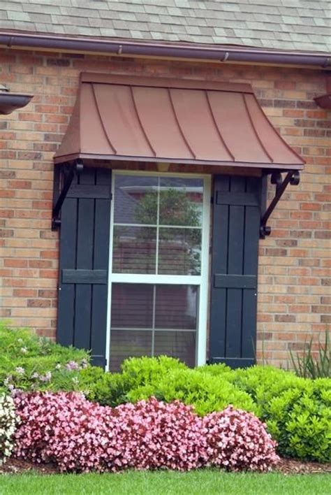 copper window awning juliet window awning copper with lazy scrolls juliet
