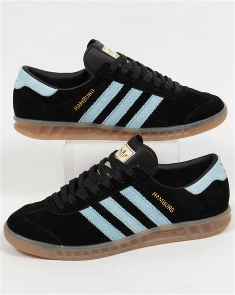 Harga Adidas Hamburg adidas hamburg trainers black blush blue originals shoes
