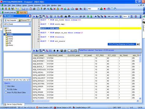 design editor oracle download pl sql software tidycode pl sql formatter