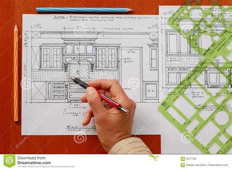 interior design drawings interior design drawings royalty free stock image image