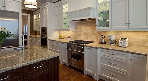 backsplash for kitchen with white cabinet the best backsplash ideas for black granite countertops