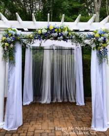 How To Decorate A Pergola For A Wedding by 17 Best Ideas About Wedding Pergola On Wedding