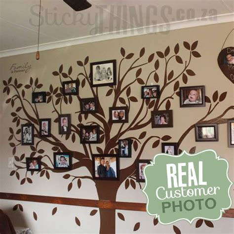 tree of wall sticker family tree wall decal stickythings co za