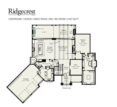 Arthur Rutenberg House Plans Ridgecrest 1365f Custom Home Floor Plan