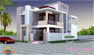 Kerala Style Home Exterior Design exterior designs in contemporary style kerala home design and floor