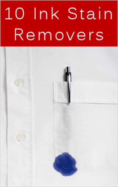 10 Best Stain Removal Tips by 10 Ink Stain Removers To Try Tipnut