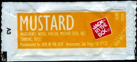 Condiment Packet Gallery by In The Box Mustard